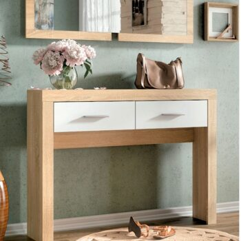 Lara Console Table White