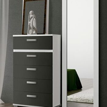 Cabra Tall 5 Drawer Chest