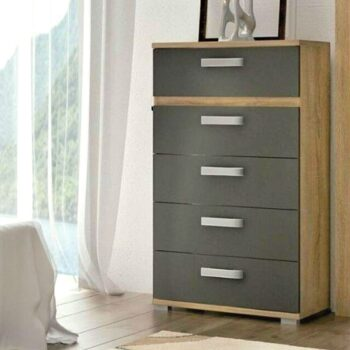 Priego Tall 5 Drawer Chest