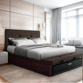 Rin Storage Bed Upholstered