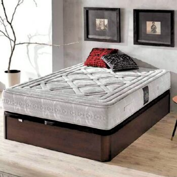 New Alan Storage Bed Wood