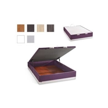 Geni Storage Bed Upholstered