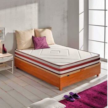 Notte Storage Bed Wood
