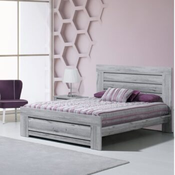 Florenca Kingsize Bed Grey