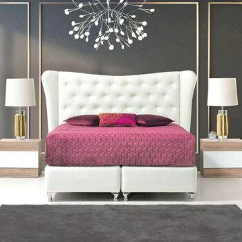 Majestic Upholstered Bed