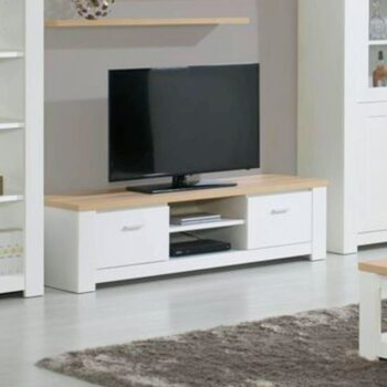 Florenca White/Oak TV Unit
