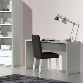 Viena White/Grey Desk