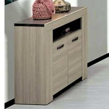 Estoril Oak /Grey Hall Unit