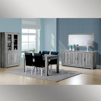 Florenca Grey 4 Door Sideboard