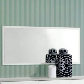 Viena White /Grey Mirror
