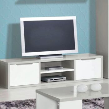 Viena White /Grey TV Unit