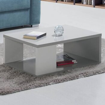 Viena White/Grey Coffee Table
