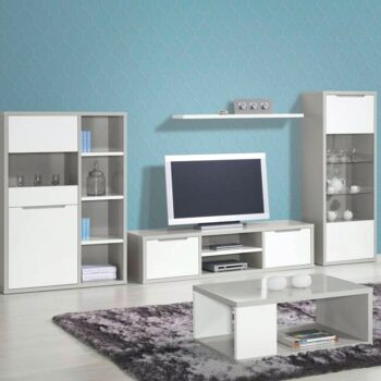 Viena White /Grey Sideboard