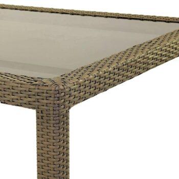 Marlene 160cm Table – Brown