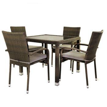 Marlene Dining Chair – Brown