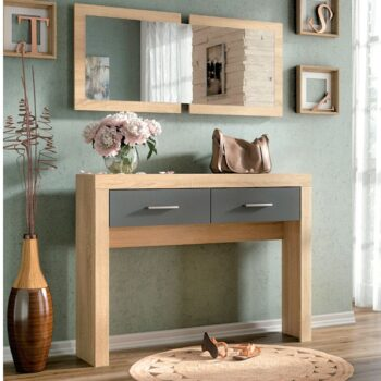 Lara Console Table Graphite