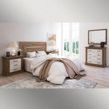 Roncal Dark/Oak Truffle Bedside