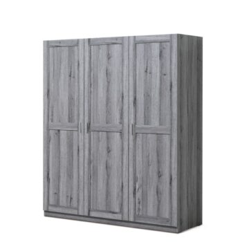 Florenca Grey 3 Door Wardrobe