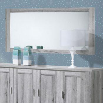 Florenca Grey Wide Mirror