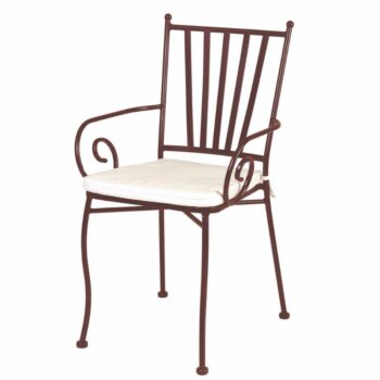 Helene Chair with Arms – Brown