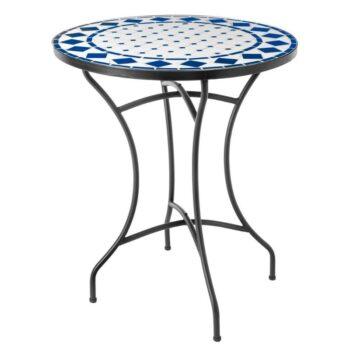 Mosaic Table 60cm – Blue