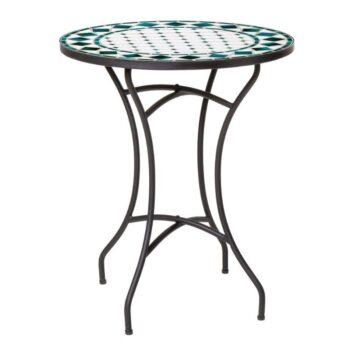 Mosaic Table 60cm – Green