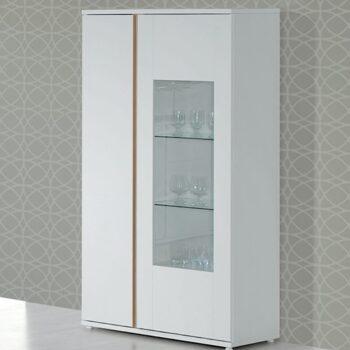 Chiado White/Oak Display Unit
