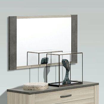 Estoril Oak/Grey Mirror