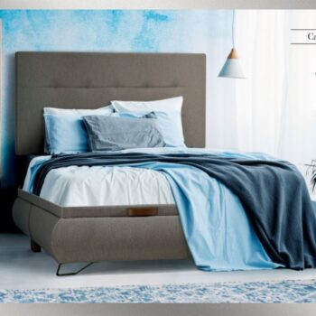 Enzo Storage Bed Upholstered