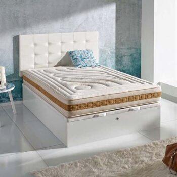 Scarpa Storage Bed Wood