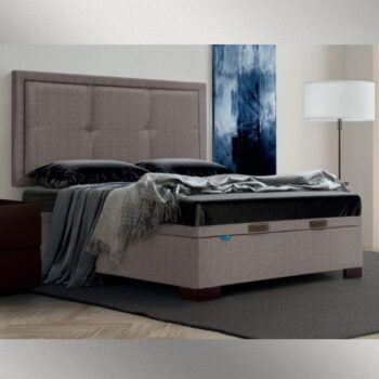 Seen Storage Bed Upholstered
