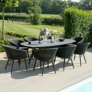 Ambition 8 Seat Oval Dining Set