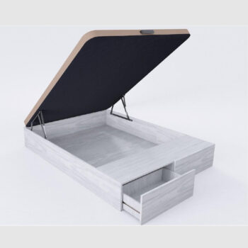 Storage Bed with 2 Drawers