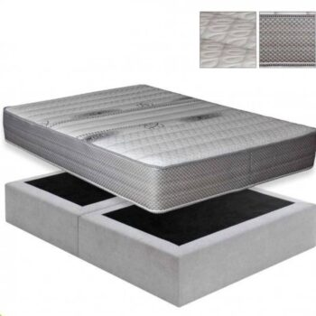 Bed Base + Mattress Set 1