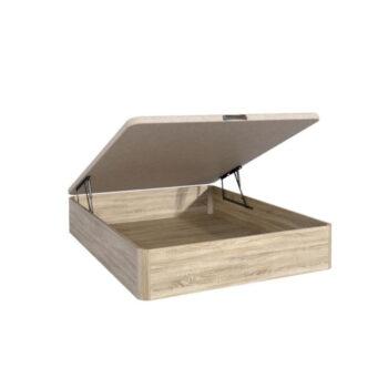 Lara Oak Storage Bed