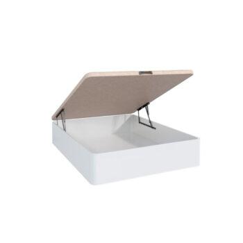 Lara White Storage Bed